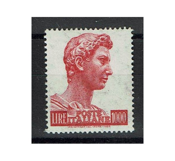 1967 San Giorgio Lire 1000 Sas. 811/II non fluorescente MNH/**