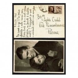 1943 propaganda di guerra su cartolina da BRA