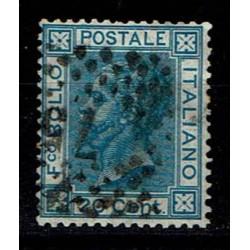1867 Sas.T26 20cent usato ottima centratura
