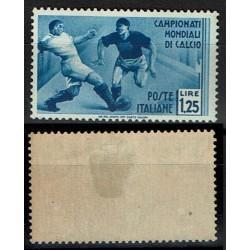1934 Mondiali di calcio Sas.360 lire 1,25 MH/*
