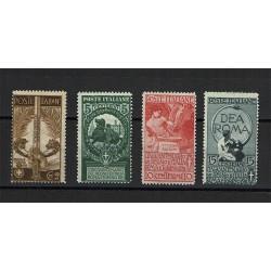 1911 Unità di Italia - serie completa MNH/**