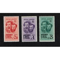 1944 Fratelli Bandiera serie MNH/**
