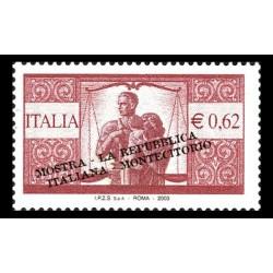 2003 Mostra filatelica - la repubblica italiana nei francobolli MNH/**