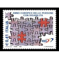 2003 Anno europeo delle persone disabili MNH/**