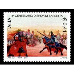 2003 5º centenario disfida Barletta MNH/**