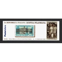 2003 Libretto Mostra filatelica di Montecitorio