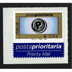 2003 Posta Prioritaria 1,00€ stampa Tipografica Sas.2673C