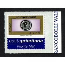 2003 Posta Prioritaria 4,13€ stampa Tipografica Sas.2673F