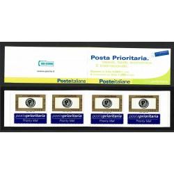 2001 Posta Prioritaria Libretto Lire 1200 x 4