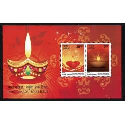 2017 India Diwali emissione congiunta Canada (Joint Iusse)