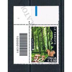 2011 Europa Le foreste CaB:1391 Superiore Sinistro