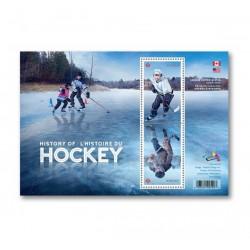 2017 Canada Storia dell' Hockey foglietto MNH/**