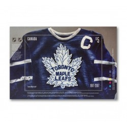2017 Canada Toronto Maple Leafs Foglietto Unusual