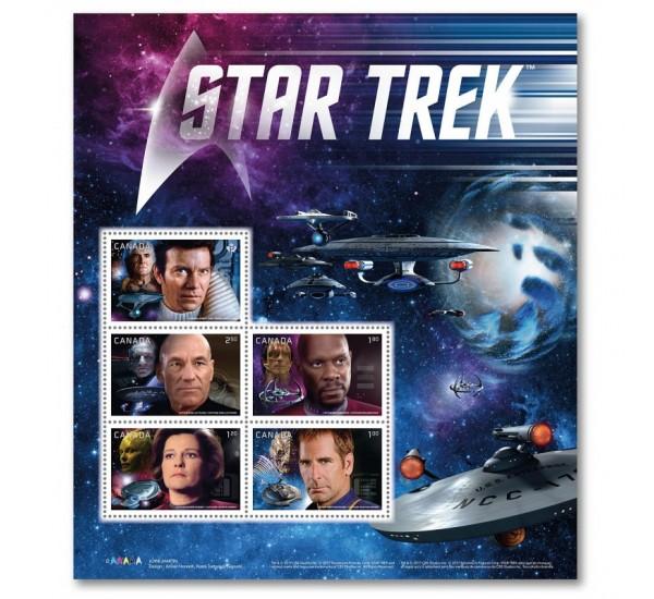 2017 Canada Star Trek foglietto MNH/**