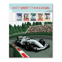 2017 Canada Formula1 - Schumacher,Senna,Hamilton,Villeneuve