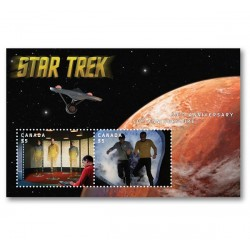 2016 Canada Star Trek Unusual Lenticolare