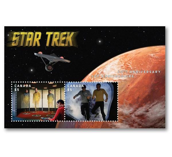 2016 Canada Star Trek Unusual Lenticolare