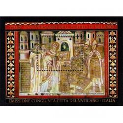 2013 Vaticano editto di Milano foglietto MNH/**