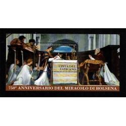 2013 Vaticano miracolo di Bolsena foglietto MNH/**