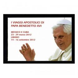 2013 Vaticano Viaggi del Papa nel 2012 Libretto