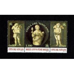 2013 Vaticano Anno della fede trittico MNH/**