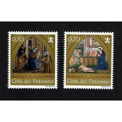 2013 Vaticano serie tematica Natale MNH/**