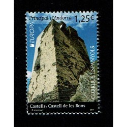 2017 Andorra Spagnola PostEurope I Castelli