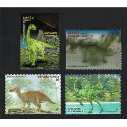 2016 Spagna Unusual Stamps Dinosauri