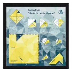2017 Spagna Unusual Stamp Origami