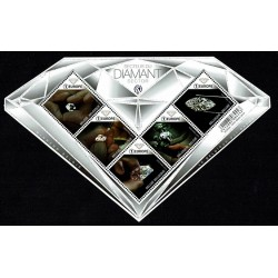 2018 Belgio il Settore dei Diamanti - Unusual Stamps