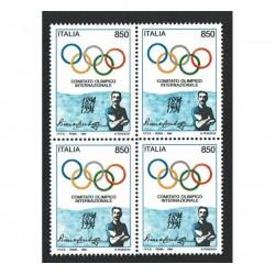 1994 comitato olimpico internazionale (C.I.O.) Quartina
