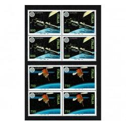 1991 Europa Missioni Spaziali Quartine MNH/**