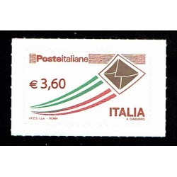 2013 Posta Italiane serie Ordinaria 3,60€