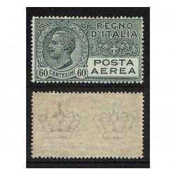 1926 Regno Posta Aerea 60cent grigio Sas.3 MNH/**