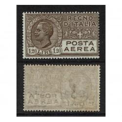 1926 Regno Posta Aerea 1,20 lire bruno Sas.5 MNH/**
