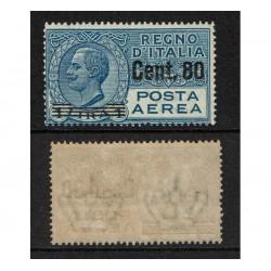 1927 Regno Posta Aerea 80c su 1 Lira Sas.9 MNH/**