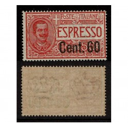1922 Regno Espressi 60cent su 50cent Sas.6 MNH/**
