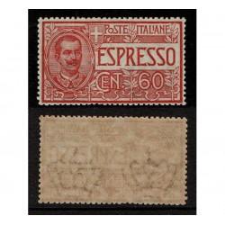 1922 Regno Espressi 60cent rosso Sas.7 MNH/**