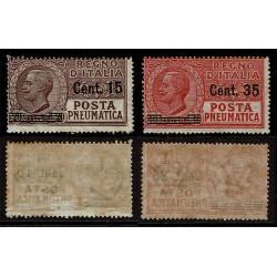 1927 Regno Posta Pneumatica Sas.10/11 MNH/**