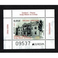 2017 Montenegro Europa CEPT Castelli MNH/**