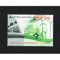 2017 Montenegro Europa - Think Green MNH/**