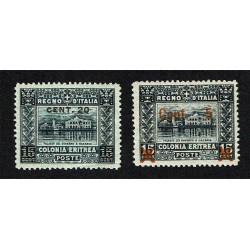 1916 Colonie Eritrea soggetti africani MNH/**