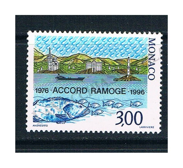1996 RA.MO.GE. emissione congiunta Monaco MNH/**