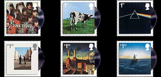 serie francobolli Pink Floyd