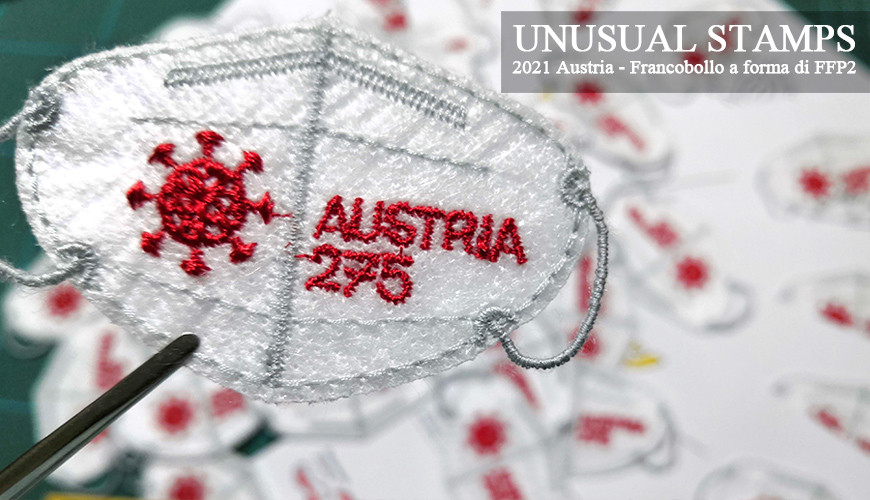 Unusual Stamps - Mascherina FFP2