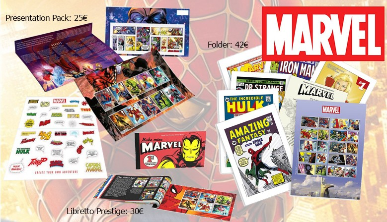 Royal Mail - Marvel