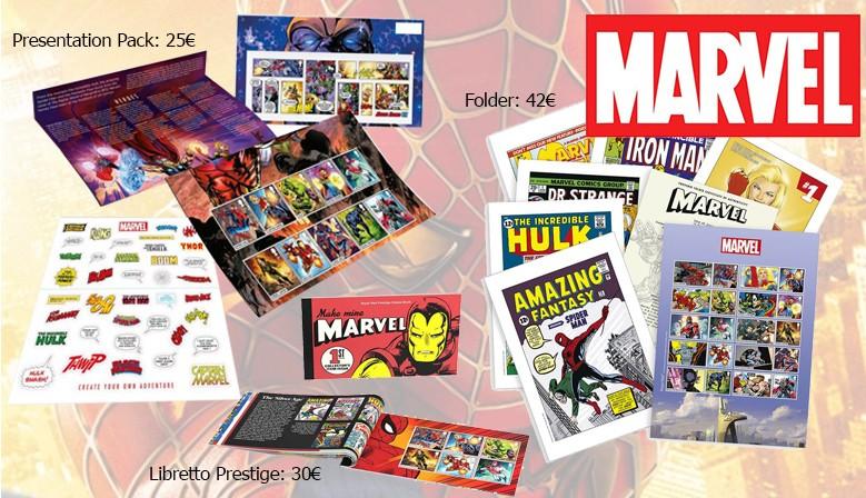Royal Mail - Marvel